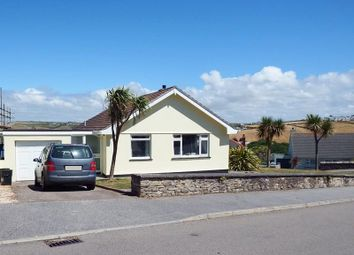 Thumbnail 3 bedroom detached bungalow for sale in Tredinnick Way, Perranporth