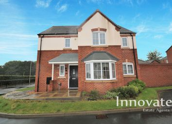 Thumbnail 4 bed detached house for sale in March Drive, Dudley