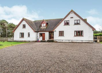 Thumbnail 7 bed detached house for sale in Evelix, Dornoch