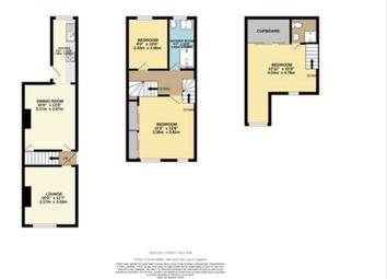 Thumbnail 3 bed terraced house for sale in Lees Hill Street, Sneinton, Nottingham
