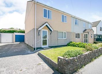 Thumbnail 3 bed semi-detached house for sale in Redbrooke Road, Camborne, Cornwall