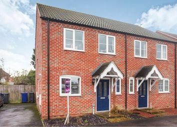 Thumbnail 2 bed semi-detached house for sale in Norman Way, Bardney, Lincoln