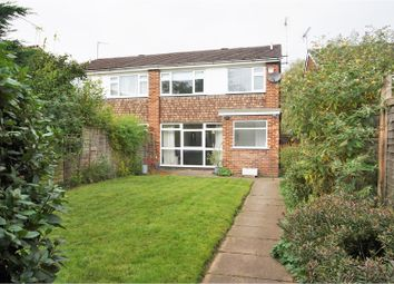 Thumbnail 3 bed semi-detached house for sale in Walverns Close, Watford