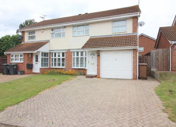 Thumbnail 3 bed semi-detached house for sale in Cicero Drive, Luton, Bedfordshire