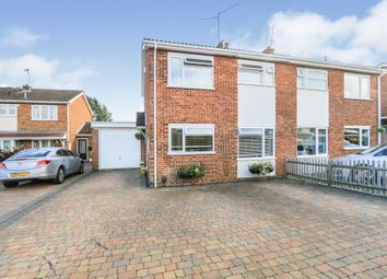 Thumbnail 3 bed semi-detached house for sale in Langham Road, Raunds, Wellingborough