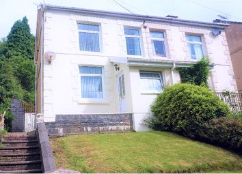 Thumbnail 2 bedroom semi-detached house for sale in Graig Road, Godrergraig