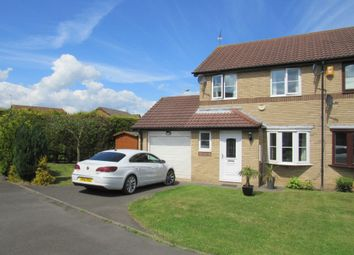 Thumbnail 3 bedroom semi-detached house for sale in Prestbury Avenue, Cramlington