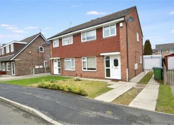 Thumbnail 3 bed semi-detached house to rent in Hendham Close, Hazel Grove, Stockport