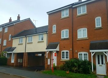 Thumbnail 4 bed town house to rent in Williamson Drive, Nantwich