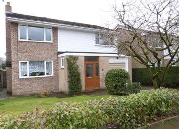 Thumbnail 4 bed detached house for sale in Somerset Close, Congleton
