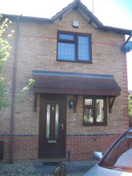 Thumbnail 2 bed end terrace house to rent in Marseilles Close, Northampton