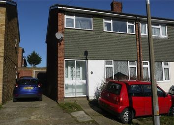 Thumbnail 3 bed semi-detached house for sale in Nunns Way, Grays, Essex
