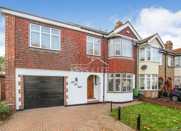 Thumbnail 4 bed semi-detached house to rent in Mawney Road, Romford