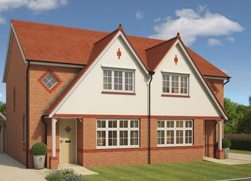 "Thumbnail 3 bed semi-detached house for sale in ""Letchworth"" at Crown Quay Lane, Sittingbourne"