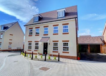 Thumbnail 5 bed detached house for sale in Hawthorn Close, Honeybourne, Evesham