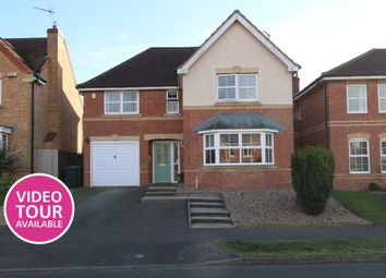 Thumbnail 4 bed detached house for sale in Sheldrake Road, Sleaford