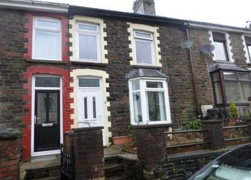 Thumbnail 3 bed terraced house to rent in Dunraven Place, Ogmore Vale, Bridgend