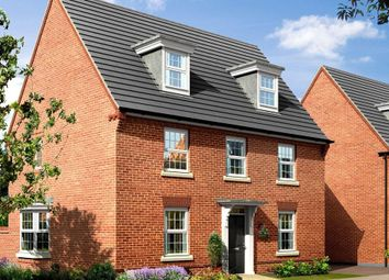 "Thumbnail 5 bed detached house for sale in ""Emerson"" at Pye Green Road, Hednesford, Cannock"