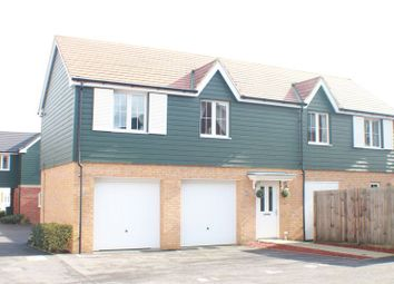 Thumbnail 2 bed semi-detached house for sale in Bedford Drive, Fareham