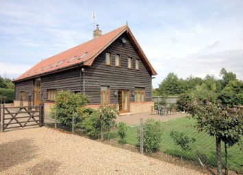 Thumbnail 5 bedroom barn conversion for sale in Lynn Road, Walpole Highway, Wisbech