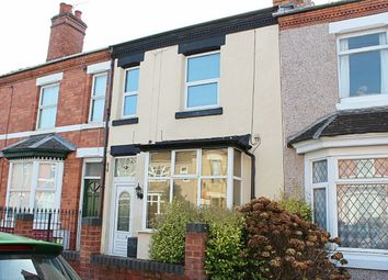 Thumbnail 3 bed terraced house to rent in Stanley Road, Coventry, West Midlands