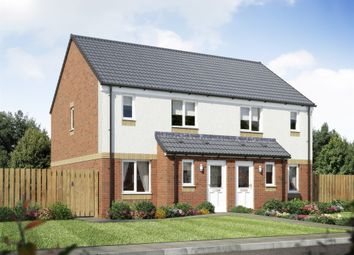 "Thumbnail 3 bed semi-detached house for sale in ""The Ardbeg"" at Mayfield Brickworks, Wilton Road, Carluke"