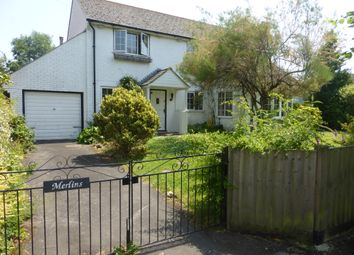Thumbnail 3 bed detached house for sale in Castle Avenue, Okeford Fitzpaine, Blandford Forum