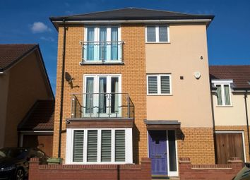 Thumbnail 4 bed link-detached house for sale in Hunsbury Chase, Broughton, Milton Keynes