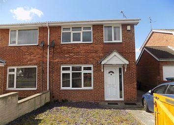 Thumbnail 3 bedroom semi-detached house to rent in Fleet Way, Worksop, Nottinghamshire