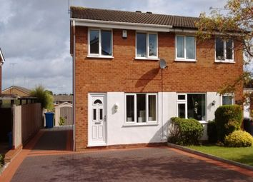 Thumbnail 2 bed semi-detached house for sale in Naseby Road, Perton, Wolverhampton