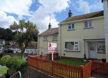 Thumbnail 2 bed terraced house for sale in Raleigh Avenue, Chelston, Torquay