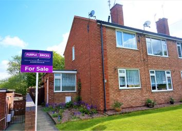 Thumbnail 1 bed flat for sale in Cannock Wood Street, Cannock