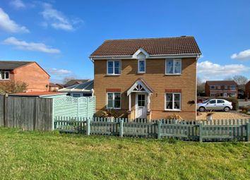 Thumbnail 3 bed link-detached house for sale in Clover Drive, Melton Mowbray