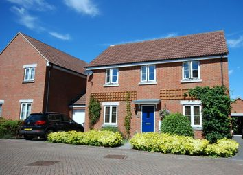 Thumbnail 4 bed detached house for sale in Thestfield Drive, Staverton, Trowbridge