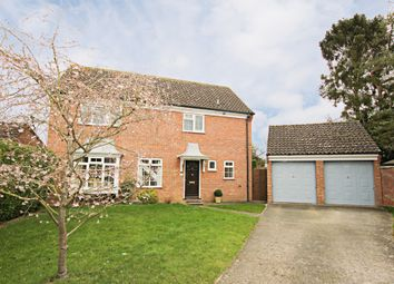 Thumbnail 4 bedroom detached house for sale in Isinglass Close, Newmarket