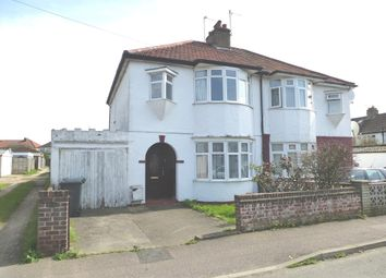 Thumbnail 3 bedroom semi-detached house for sale in Fairfield Road, Hoddesdon