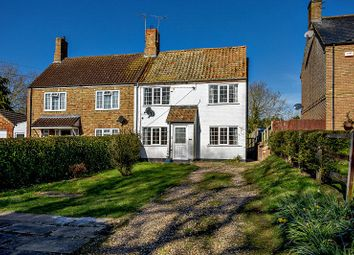 Thumbnail 3 bed semi-detached house to rent in Main Street, Old Weston, Cambridgeshire