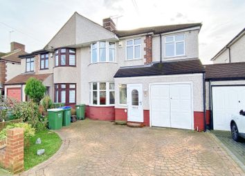 Thumbnail 4 bed semi-detached house to rent in Sherwood Park Avenue, Sidcup, Kent