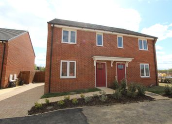 Thumbnail 3 bed terraced house for sale in Angles Drive, Buckden, St. Neots
