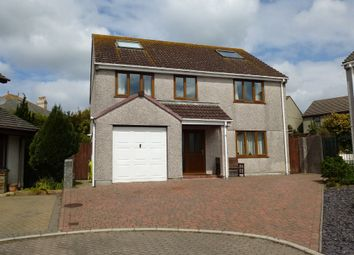 Thumbnail 6 bed detached house for sale in Tregoddick Close, Madron, Penzance