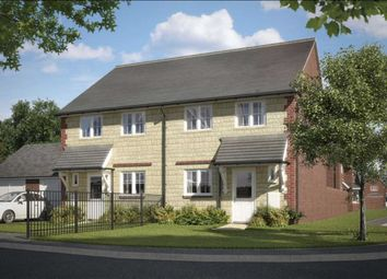 Thumbnail 3 bedroom semi-detached house for sale in Meadow View, Watchfield, Oxfordshire
