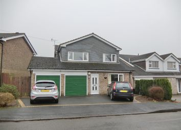 Thumbnail 4 bedroom detached house for sale in Dauphine Close, Coalville, Leicestershire