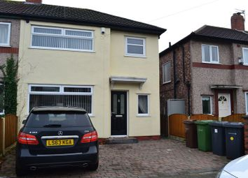Thumbnail 3 bed semi-detached house for sale in Elton Avenue, Bootle