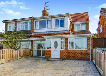 Thumbnail 5 bed semi-detached house for sale in Pleasington Close, Prenton