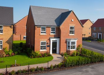 "Thumbnail 4 bedroom detached house for sale in ""Holden"" at Burnby Lane, Pocklington, York"