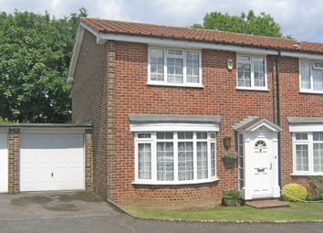 Thumbnail 3 bed semi-detached house to rent in Squirrels Green, Worcester Park
