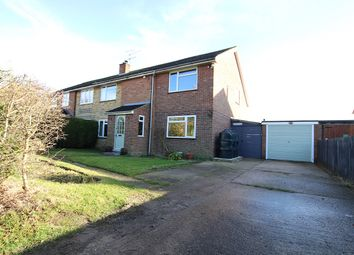 Thumbnail 4 bed semi-detached house for sale in Helmingham Road, Gosbeck, Ipswich, Suffolk