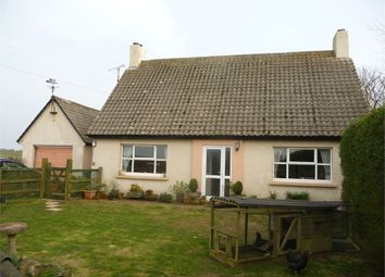 Thumbnail 3 bed detached bungalow for sale in Heatherlea, Croesgoch, Haverfordwest, Pembrokeshire