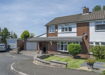 Thumbnail 3 bed semi-detached house for sale in Queens Drive, Gee Cross, Hyde