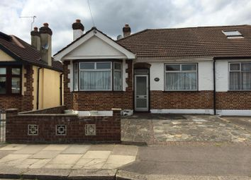 Thumbnail 2 bed semi-detached bungalow for sale in Somerville Road, Chadwell Heath, Romford